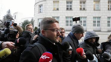 Pawel Juszczyszyn w Sejmie