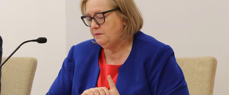 """Małgorzata Manowska beszta sędziów. """"Pycha jest wrogiem służby!"""""""