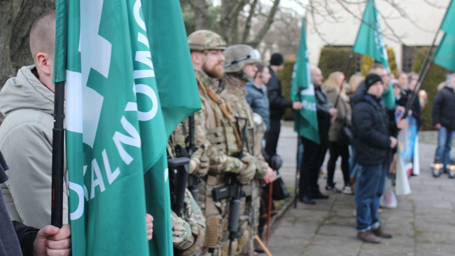Obchody Dnia Pamięci Żołnierzy Wyklętych w Pabianicach