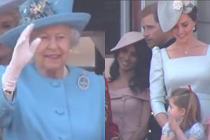 Królowa Elżbieta, księżniczka Charlotte