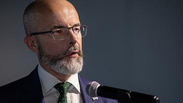 Jonathan Knott, ambasador Wielkiej Brytanii w Polsce.