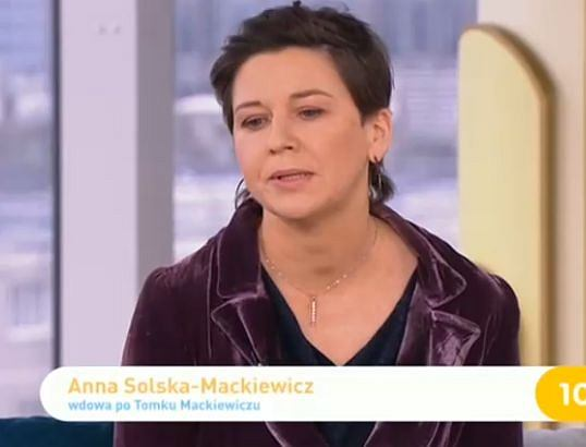Anna Solska-Mackiewicz w 'DD TVN'
