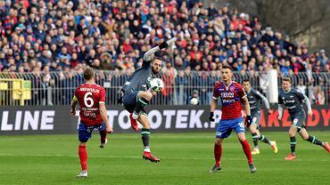 Półfinał Pucharu Polski. Raków Częstochowa - Lechia Gdańsk 0:1