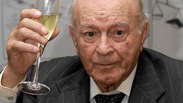 Alfredo di Stefano w listopadzie 2009