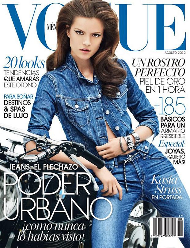 Kasia Struss, Vogue Mexico, sierpień 2012
