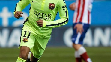 Atletico Madryt - Barcelona 2:3. Neymar