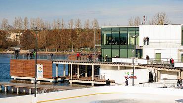 Kapitanat na terenie Centrum Rekreacyjno-Sportowego Ukiel w Olsztynie
