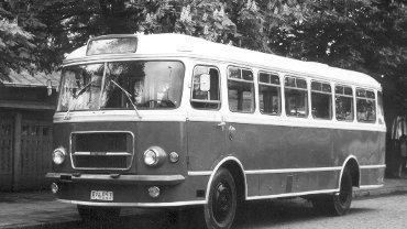 Autobus San H-100B. Archiwum MPK
