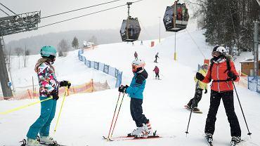 Gdzie na narty? Od 12 lutego otwarte stoki w Beskidach, czynna także Górka Kamieńsk (zdjęcie ilustracyjne)