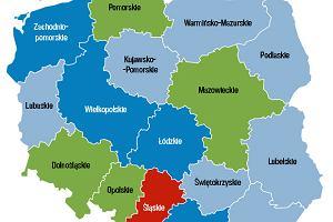 Najbogatsi emeryci mieszkają na Śląsku, najbiedniejsi - na ścianie wschodniej