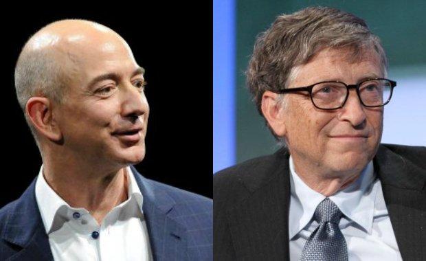 Jeff Bezos i Bill Gates
