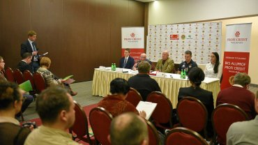 Konferencja BKS-u na której ogłoszono nowego tytularnego sponsora