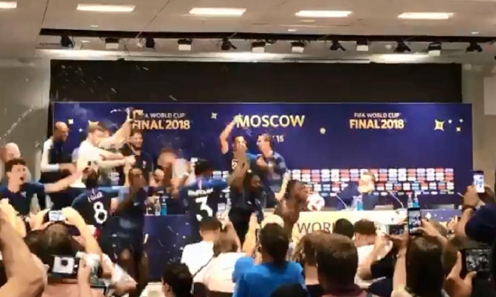 Konferencja prasowa reprezentacji Francji po finale mistrzostw świata