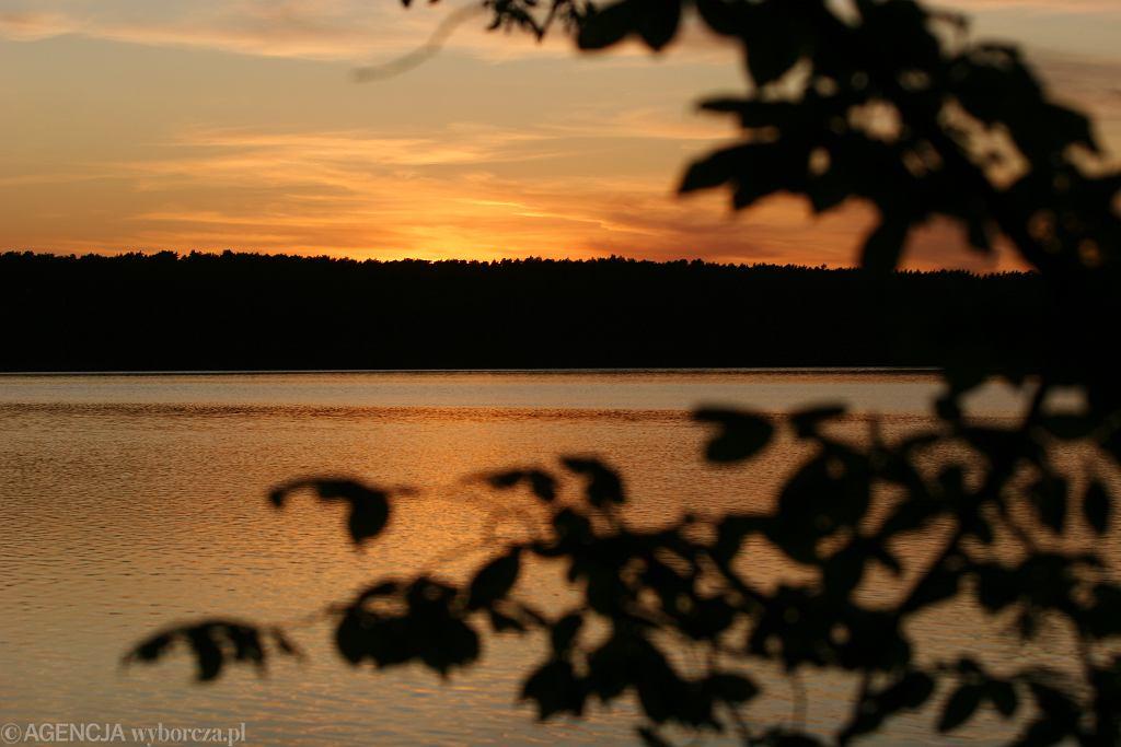 Jezioro Zbiczno w Brodnickim Parku Krajobrazowym