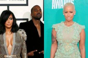 Kim Kardashian i Kanye West, Amber Rose