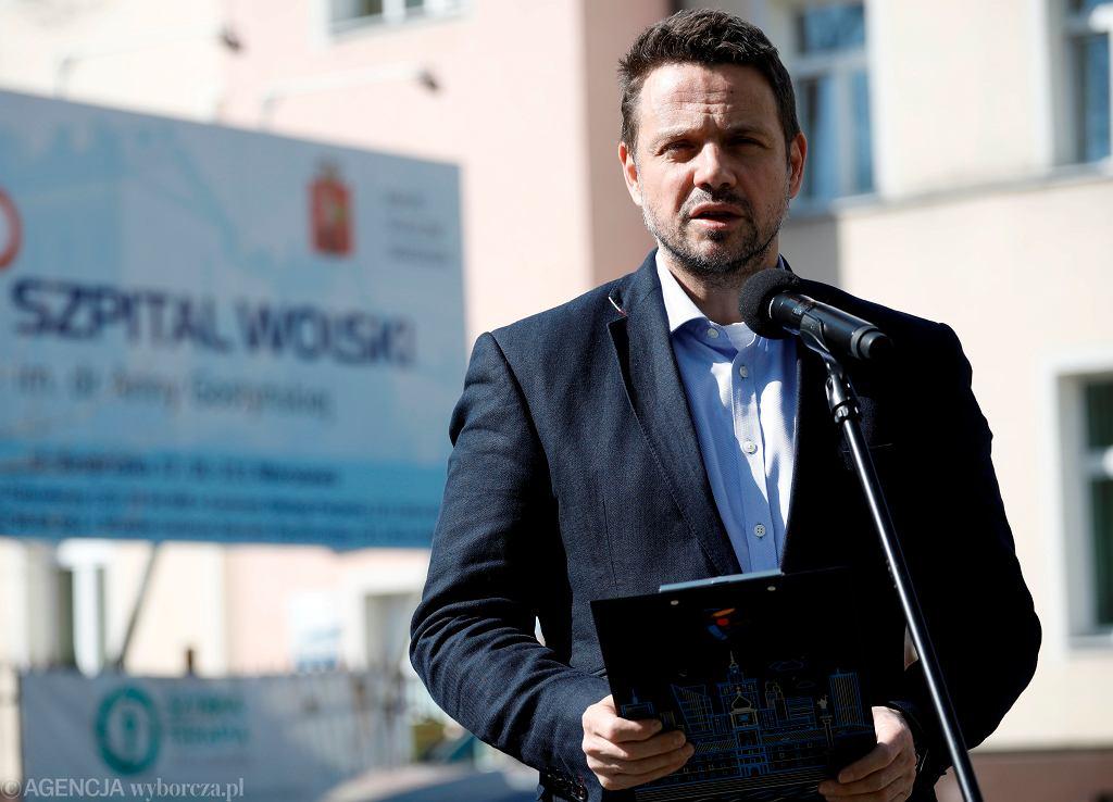 Konferencja prezydenta Trzaskowskiego