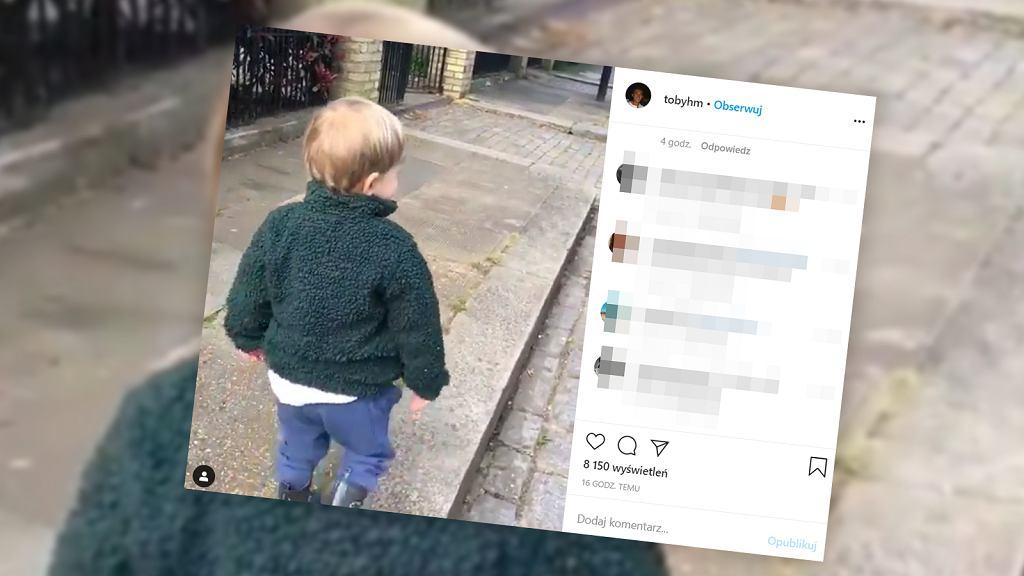 Nagranie z dzieckiem, które wita się z niewidzialnymi ludźmi, podbija sieć.