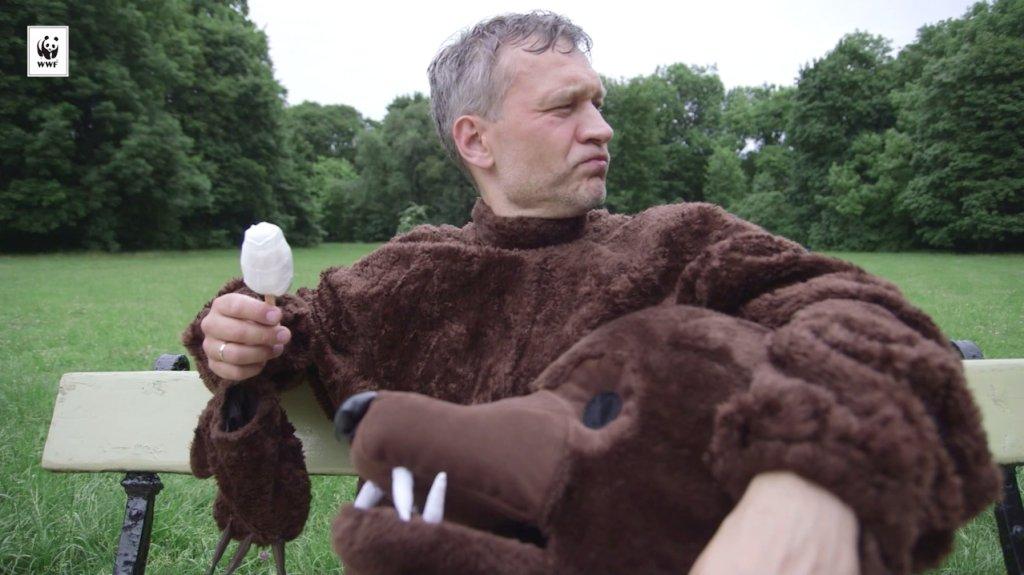 Michał Żebrowski w spocie kampanii