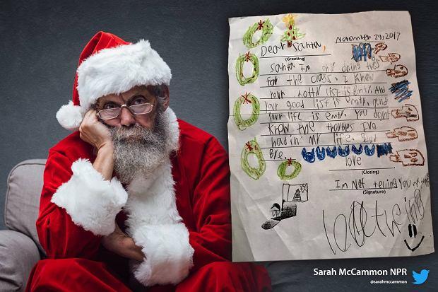 6 Latek Napisał Kontrowersyjny List Do św Mikołaja I W
