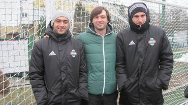 Rossi Leandro, Aleksiej Dubina i Mateusz Radecki