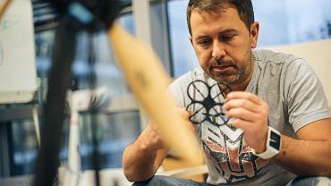 Sebastian Nowicki, właściciel firmy aiRPAS Machines