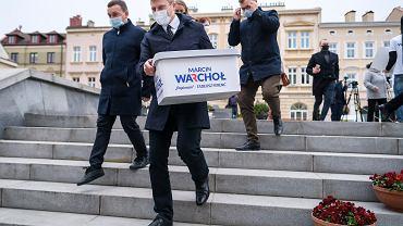 Sztab Marcina Warchoła zebrał 5,5 tys. podpisów