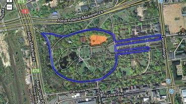 Parkrun Łódź - trasa pięciokilometrowego biegu cyklicznego, odbywającego się co sobotę w Łodzi