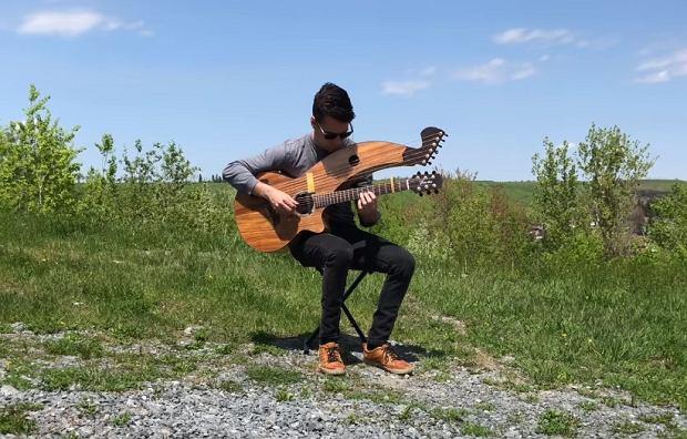 Still Loving You - (Scorpions) - Harp Guitar Version - Jamie Dupuis