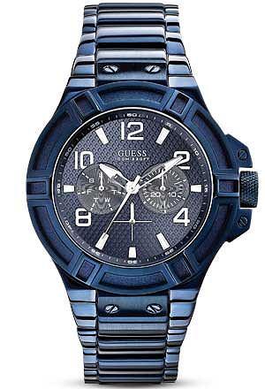 Zegarki: co nowego w 2013 roku, moda męska, zegarki, Zegarek z kolekcji Guess, Tiesto