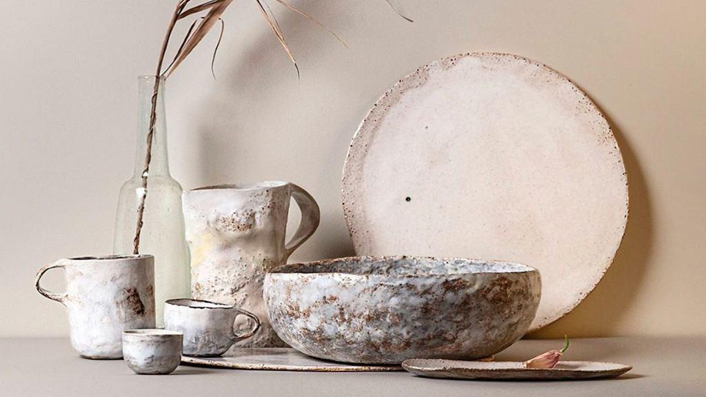 Ceramika Kasi Białek inspirowana naturą.
