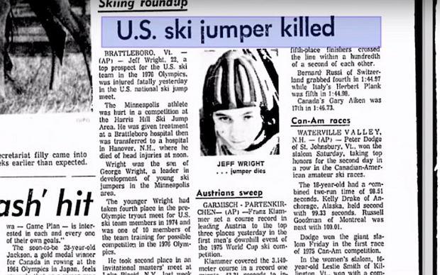 Śmierć Jeffa Wrighta