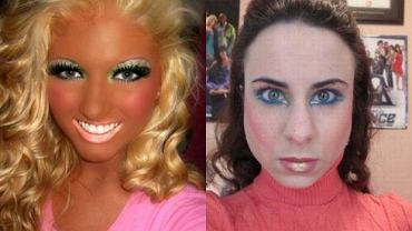 Dziwne makijaże