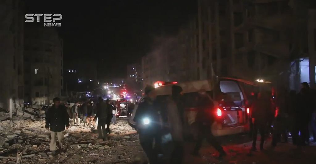Zamach w Idlib