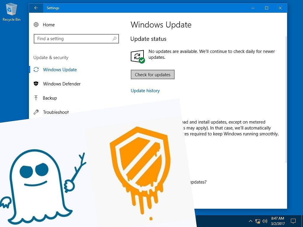 Microsoft łata dziury Meltdown i Spectre. To może spowolnić komputery