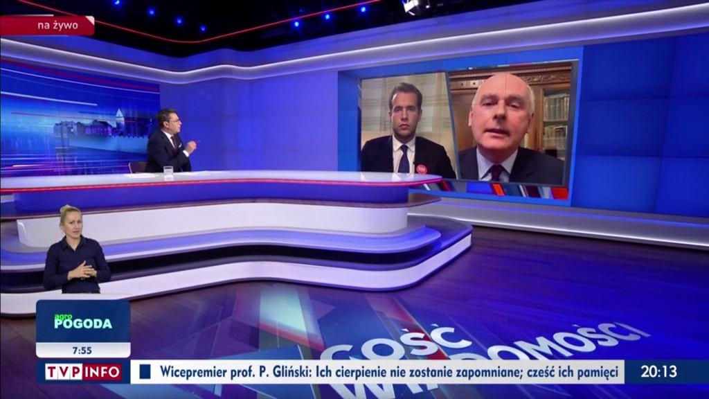 Niedzielny 'Gość Wiadomości' z Pawłem Zalewskim i Janem Kanthakiem