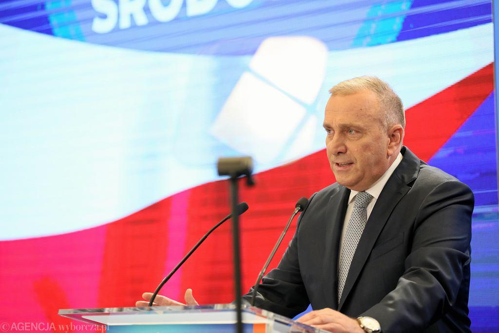13.07.2019, Grzegorz Schetyna przemawia podczas drugiego dnia Forum Programowego Koalicji Obywatelskiej.