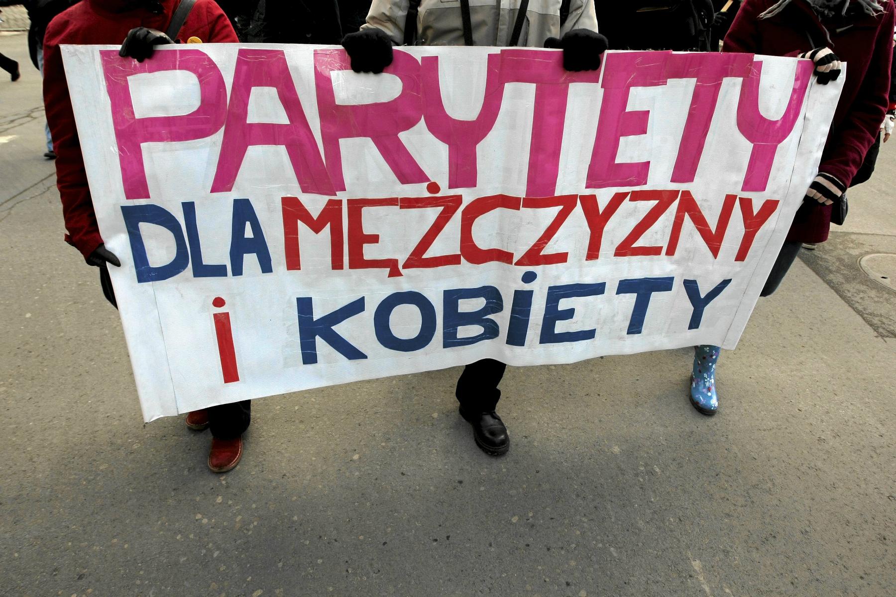 Manifa w Poznaniu (fot: Tomek Kamiński/ Agencja Gazeta)