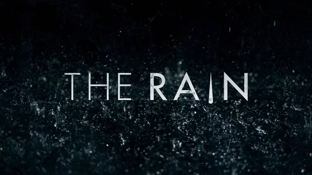Logo serialu 'The Rain'