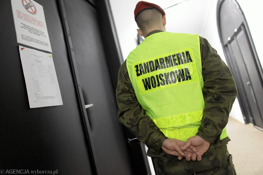 Żandarmeria Wojskowa. Proces w Wojskowym Sądzie Okręgowym (sprawa Nangar Khel). Warszawa, 18 marca 2009