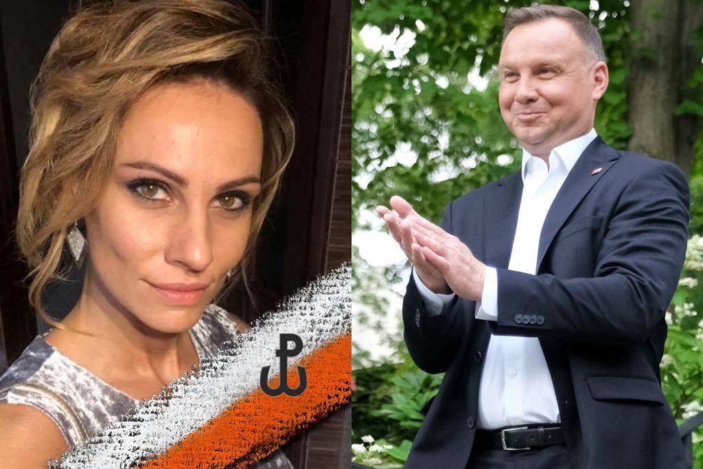 Agata Duda-Kękuś, Andrzej Duda