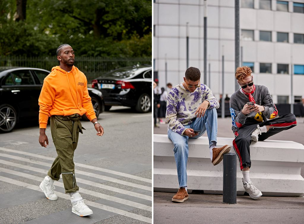 Sneakersy męskie na lato
