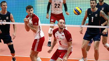 Mecz Mistrzostw Świata w siatkówce Polska - USA.