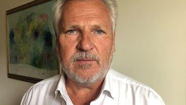 Aleksander Kwaśniewski. Były Prezydent RP.