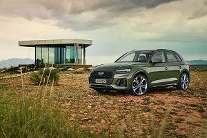 Nowe Audi Q5 zaprezentowane. Na premierę przyjedzie z miękką hybrydą