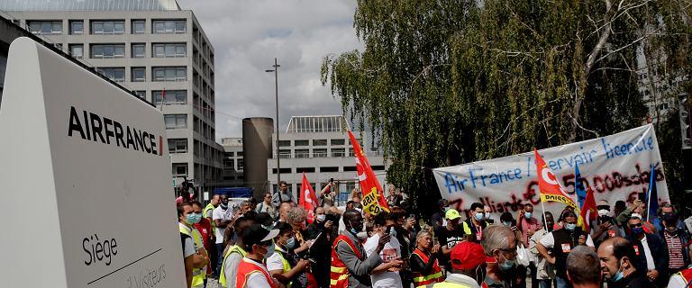 Air France ostro zetnie zatrudnienie. Zniknie ponad 7500 miejsc pracy