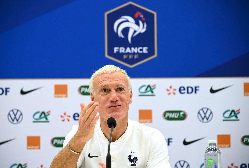 Didier Deschamps zdradził, kto według niego powinien otrzymać Złotą Piłkę