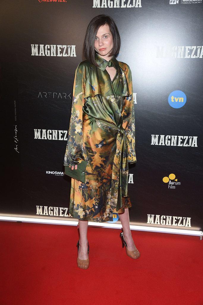 Małgorzata Gorol - premiera filmu 'Magnezja'