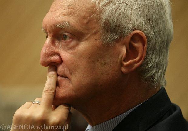 Szef PAN prof. Michał Kleiber