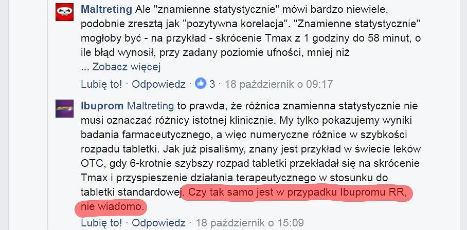 Maltreting.pl pyta Ibuprom