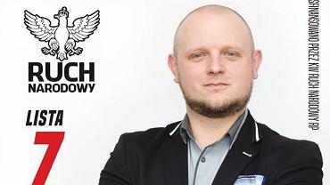Jacek Lanuszny, kandydat Ruchu Narodowego w wyborach samorządowych
